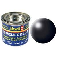 Краска Revell эмалевая, № 302 (черная шелковисто-матовая)