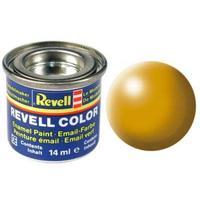 Краска Revell эмалевая, № 310 (желтая-Люфтганза шелковисто-матовая)