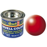 Краска Revell эмалевая, № 332 (светящаяся красная шелковисто-матовая)