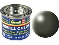 Краска Revell эмалевая, № 361 (оливково-зеленая шелковисто-матовая)