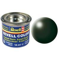 Краска Revell эмалевая, № 363 (темно-зеленая шелковисто-матовая)