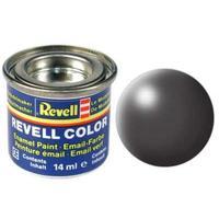 Краска Revell эмалевая, № 378 (темно-серая шелковисто-матовая)