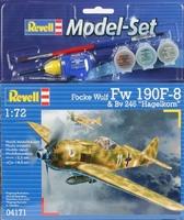 Подарочный набор с самолетом Focke Wulf FW 190 F-8