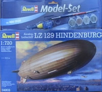 """Подарочный набор с дирижаблем Luftschiff LZ 129 """"Hindenburg"""""""