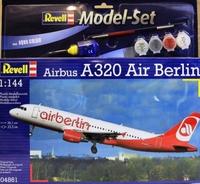Подарочный набор с самолетом Airbus A320 Air Berlin