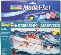 Подарочный набор с кораблем DGzRS Hermann Marwede