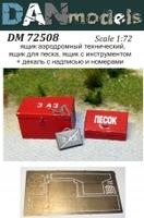 Аэродромный технический ящик, ящик с песком, ящик для иструмента
