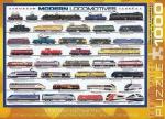 Пазлы Eurographics Современные локомотивы