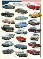 Пазлы Eurographics Американские авто