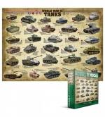 Пазлы Eurographics Танки II мировой войны