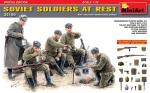 Советские солдаты на отдыхе