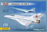 Экспериментальный самолет МиГ-21И (А-144-1) Аналог (первый прототип)
