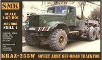 SMK87006 KrAZ-255W Soviet Army off-road tractor