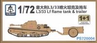 Танк L3/33 с огнеметом