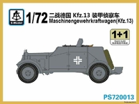 Бронеавтомобиль Maschinengewehrkraftwagen (Kfz.13)