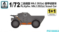 Бронеавтомобиль Pz.Kpfw.Mk.I 202(e)