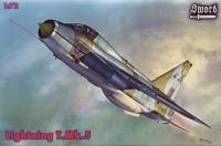 Самолет Lightning T.Mk.5 (Декали на 2 варианта)
