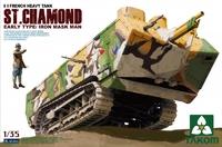 Танк St.Chamond ранний