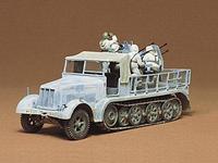Немецкий  8-тонный полугусеничный транспортер Sd.Kfz.7/1