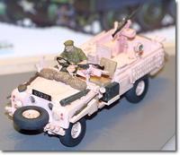 Британские  S. A. S. Розовые Пантеры на Land Rover