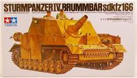 Sturmpanzer IV Brummbar Бруммбэр Sd.Kfz.166