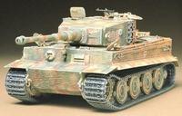 Немецкий танк Tiger I поздняя версия