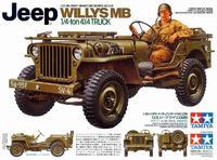 Американский 1/4-тонный джип Willys MB
