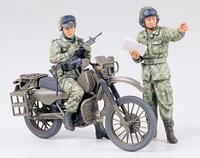 Японский дозор на мотоциклах