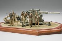 Немецкая пушка 88mm Gun Flak36 Северная африка