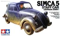 Немецкий трофейный автомобиль Simca 5
