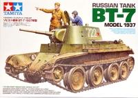 Советский танк БТ-7 1937