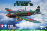 Японский истребитель Mitsubishi A6M5 Zero (Zeke)