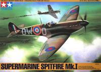 Английский истребитель Супермарин Спитфайр  (Spitfire) Mk.I