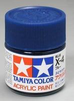 Акриловая краска 10мл Mini X-4 синий (глянцевая)