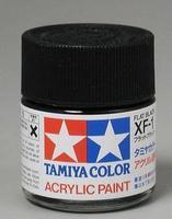 Акриловая краска 10мл Mini XF-1 матовый черный