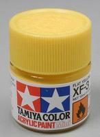 Акриловая краска 10мл Mini XF-3 матовый желтый