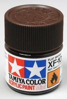 Акриловая краска 10мл Mini XF-10 матовый коричневый