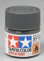 Акриловая краска 10мл Mini XF-24 темносерый (матовая)