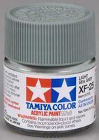 Акриловая краска 10мл Mini XF-25 Светло-серая морская (матовая)