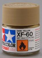 Акриловая краска 10мл Mini XF-60 Темножелтый
