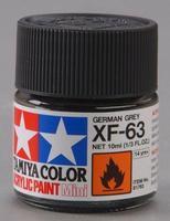 Акриловая краска 10мл Mini XF-63 немецкий серый (матовая)