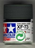 Акриловая краска 10мл Mini XF-73 темнозеленый японская армия (матовая)