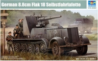Немецкий тягач Selbstfahrlafette с орудием 8.8cm Flak 18