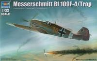 Истребитель Messerschmitt Bf 109F-4/Trop