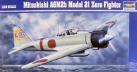 Японский истребитель A6M2b Model 21 Zero