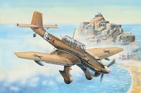 Бомбардировщик Junkers Ju-87R Stuka