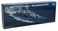 Английский фрегат Вестминстер F237