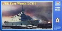 Американский боевой корабль прибрежной зоны Fort Worth LCS-3