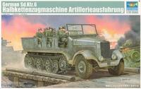 Немецкий артилерийский тягач Sd.Kfz.6