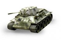 Танк Т-34 обр. 1941г. (белый)